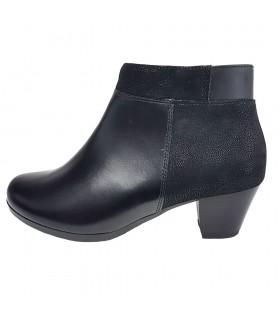 Botine dama, piele naturala, marca Alpina, Cod 7J41-1-01-23, culoare negru